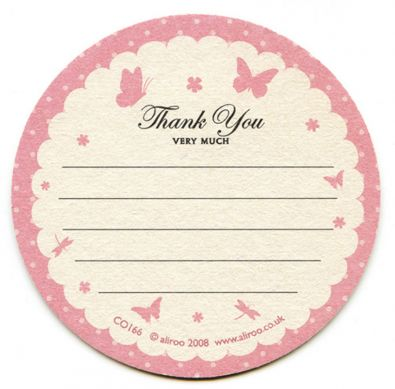 Boudoir Thank You Cards